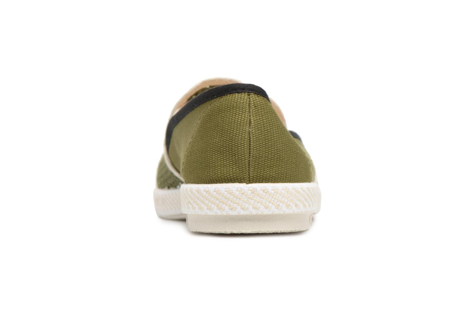 Loafers Rivieras Phocea Green view from the right