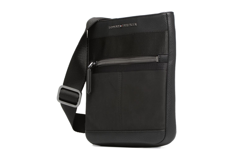 Herrentaschen Tommy Hilfiger Playful Novelty Mini crossover schwarz schuhe getragen