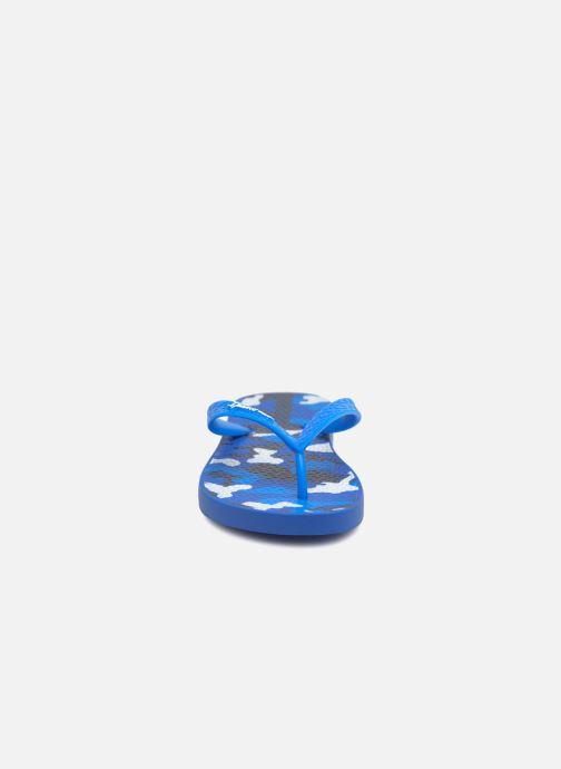Tongs Ipanema Classic VI Bleu vue portées chaussures