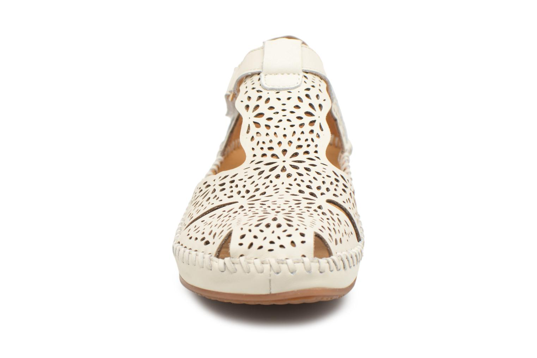 Ballerines Pikolinos P. VALLARTA 655 / 1574 nata Blanc vue portées chaussures
