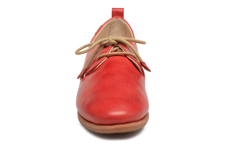 Chaussures à lacets Pikolinos CALABRIA W9K / 4623 carmin Rouge vue portées chaussures