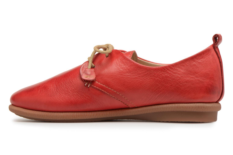 Chaussures à lacets Pikolinos CALABRIA W9K / 4623 carmin Rouge vue face