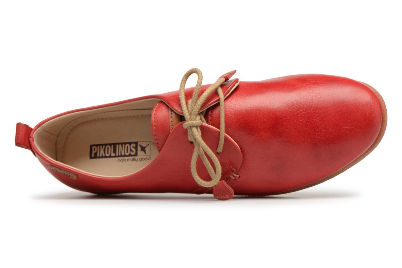 Chaussures à lacets Pikolinos CALABRIA W9K / 4623 carmin Rouge vue gauche