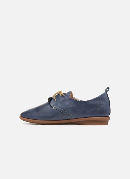 Chaussures à lacets Pikolinos Calabria W9K-4623 Bleu vue face
