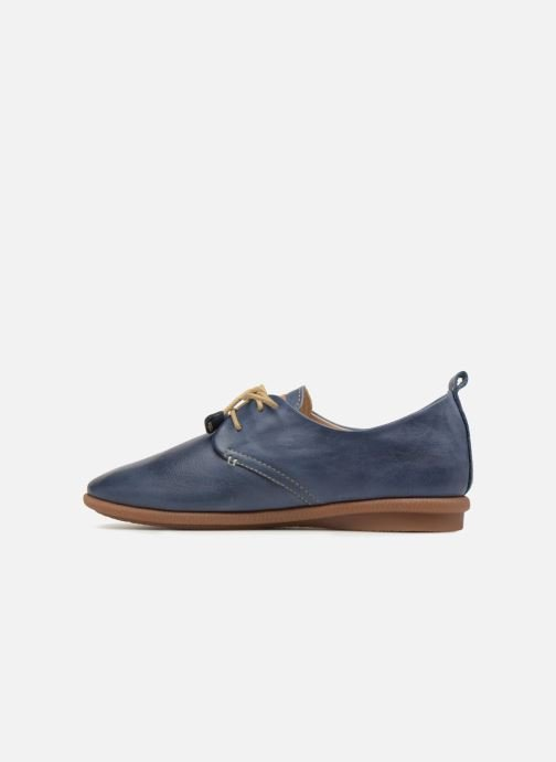 Lace-up shoes Pikolinos Calabria W9K-4623 Blue front view