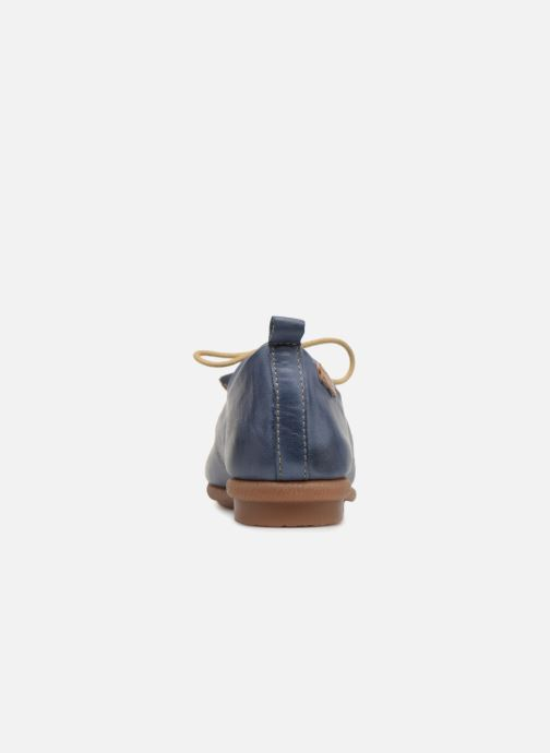 Lace-up shoes Pikolinos Calabria W9K-4623 Blue view from the right