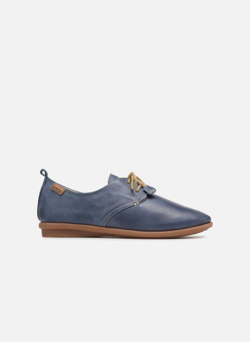 Lace-up shoes Pikolinos Calabria W9K-4623 Blue back view