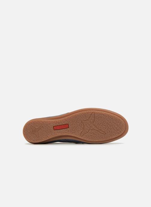 Chaussures à lacets Pikolinos Calabria W9K-4623 Bleu vue haut
