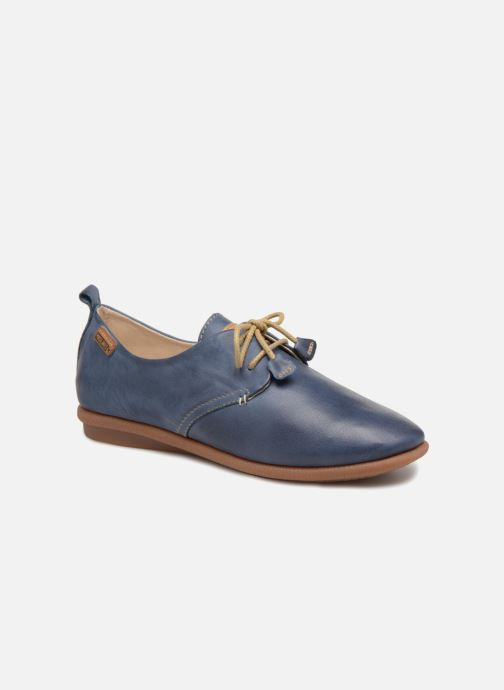 Lace-up shoes Pikolinos Calabria W9K-4623 Blue detailed view/ Pair view