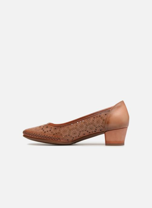 High heels Pikolinos GOMERA W6R / 5811 flamingo Brown front view