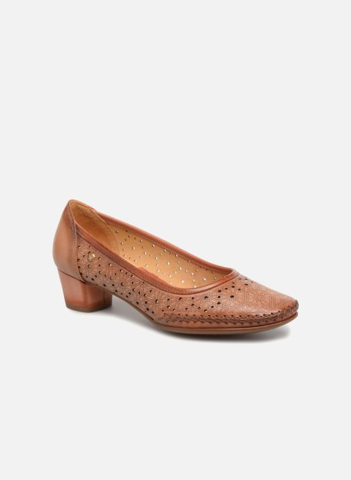 High heels Pikolinos GOMERA W6R / 5811 flamingo Brown detailed view/ Pair view