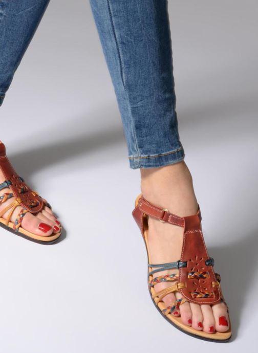 Sandales et nu-pieds Pikolinos Alcudia 816-0509 Rouge vue bas / vue portée sac