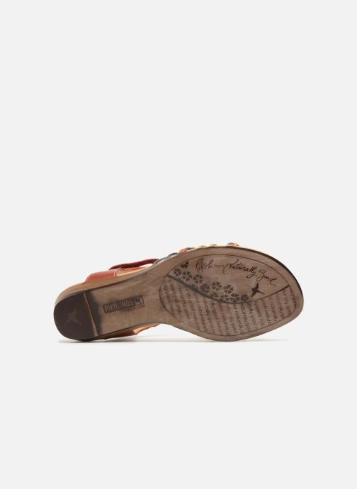 Sandales et nu-pieds Pikolinos Alcudia 816-0509 Rouge vue haut