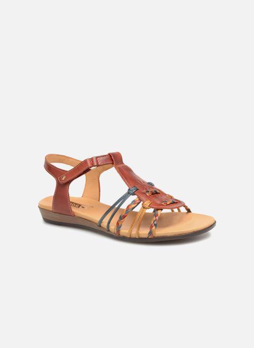 Sandales et nu-pieds Pikolinos Alcudia 816-0509 Rouge vue détail/paire