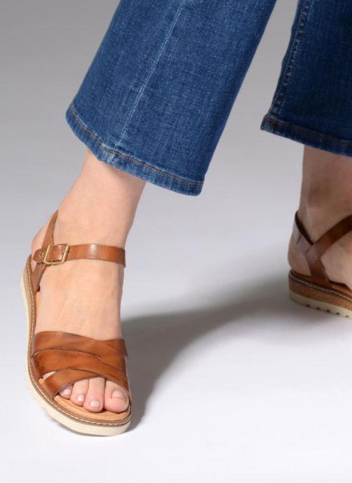 Sandales et nu-pieds Pikolinos Alcudia W1L- 0955 Marron vue bas / vue portée sac