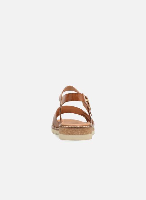 Sandales et nu-pieds Pikolinos Alcudia W1L- 0955 Marron vue droite