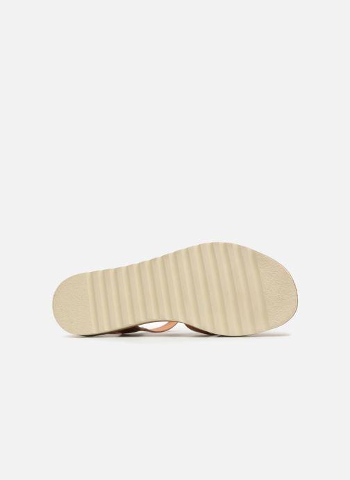 Sandales et nu-pieds Pikolinos Alcudia W1L- 0955 Marron vue haut