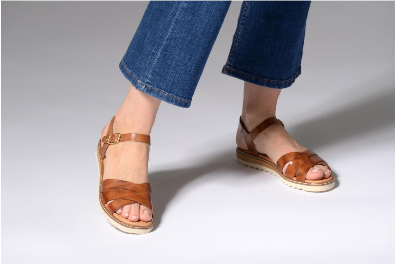 Sandales et nu-pieds Pikolinos ALCUDIA W1L / 0955 brandy Marron vue bas / vue portée sac
