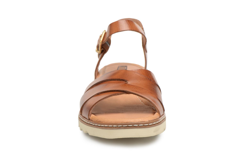 Sandales et nu-pieds Pikolinos ALCUDIA W1L / 0955 brandy Marron vue portées chaussures