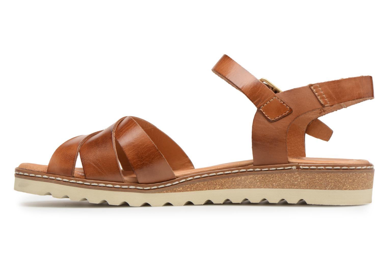 Sandales et nu-pieds Pikolinos ALCUDIA W1L / 0955 brandy Marron vue face
