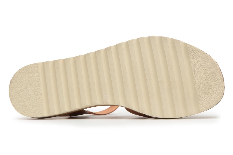 Sandales et nu-pieds Pikolinos ALCUDIA W1L / 0955 brandy Marron vue haut