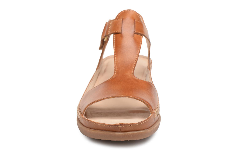 Sandales et nu-pieds Pikolinos CADAQUES W8K / 0578 brandy Marron vue portées chaussures