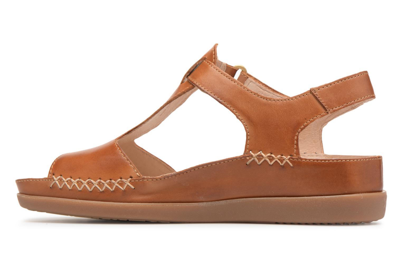 Sandales et nu-pieds Pikolinos CADAQUES W8K / 0578 brandy Marron vue face