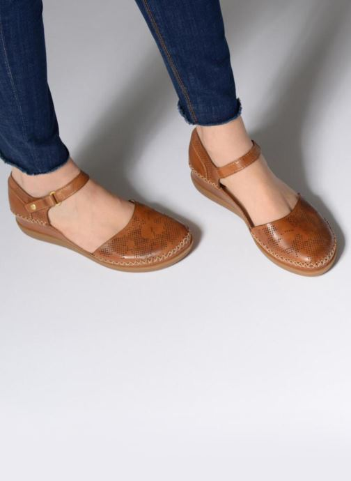 Ballet pumps Pikolinos CADAQUES W8K / 0548 brandy Brown view from underneath / model view