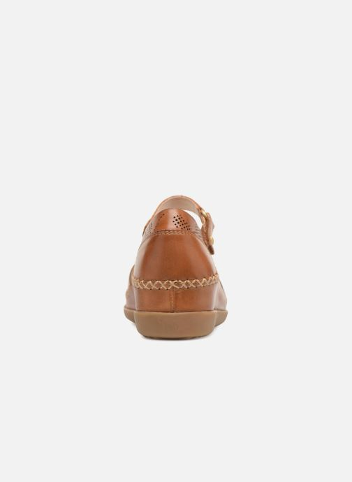 Ballet pumps Pikolinos CADAQUES W8K / 0548 brandy Brown view from the right