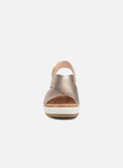 Sandales et nu-pieds Pikolinos MykonosW1G-0757CL Argent vue portées chaussures