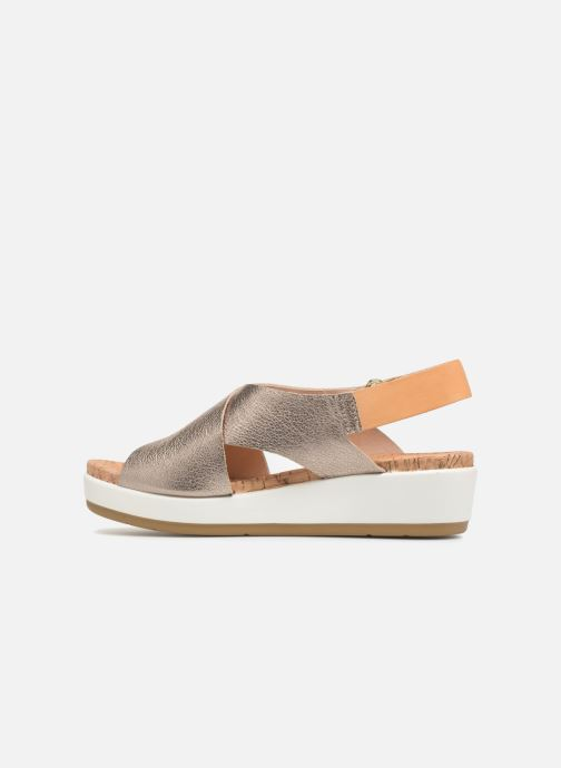Sandales et nu-pieds Pikolinos MykonosW1G-0757CL Argent vue face