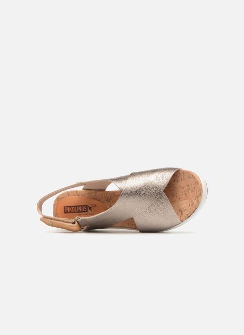 Sandales et nu-pieds Pikolinos MykonosW1G-0757CL Argent vue gauche