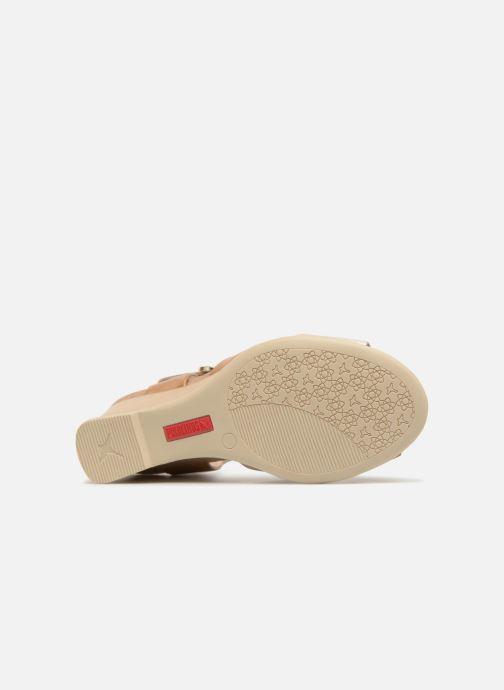 Sandalen Pikolinos VIGO W3R / 1642 ivory Beige boven