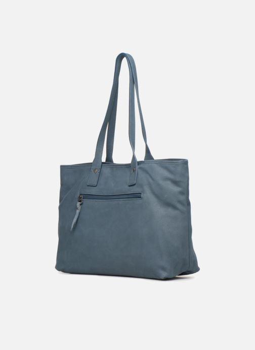Handtaschen Sabrina July blau ansicht von rechts