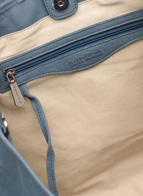 Handtaschen Sabrina July blau ansicht von hinten