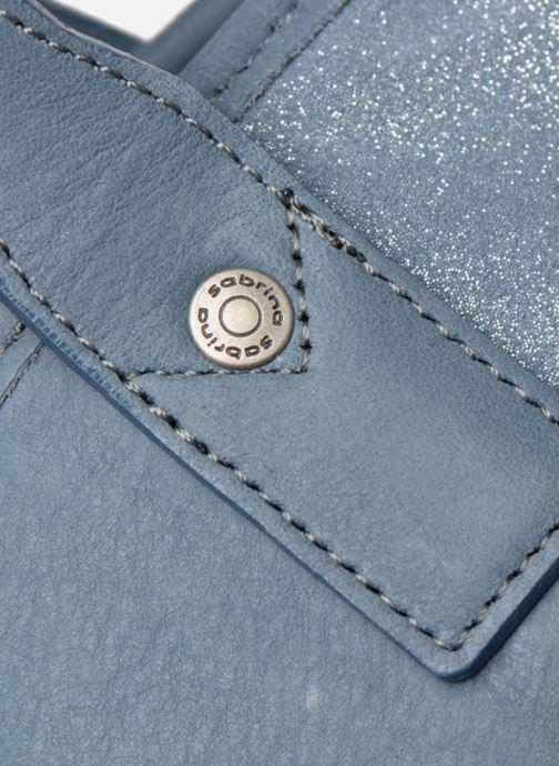 Handtaschen Sabrina July blau ansicht von links