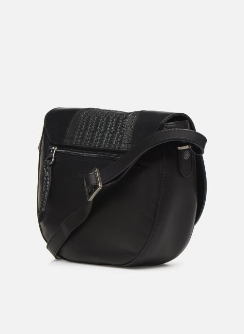 Handbags Sabrina Fleur Black view from the right