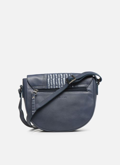 Handbags Sabrina Fleur Blue front view