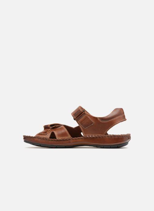 Sandales et nu-pieds Pikolinos Tarifa 06J-5818 Marron vue face
