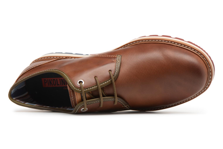 Chaussures à lacets Pikolinos BERNA M8J / 4224 cuero Marron vue gauche