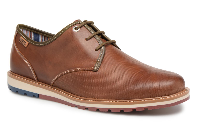 Chaussures à lacets Pikolinos BERNA M8J / 4224 cuero Marron vue détail/paire