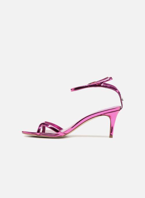 Sandales et nu-pieds Guess NYALA Rose vue face