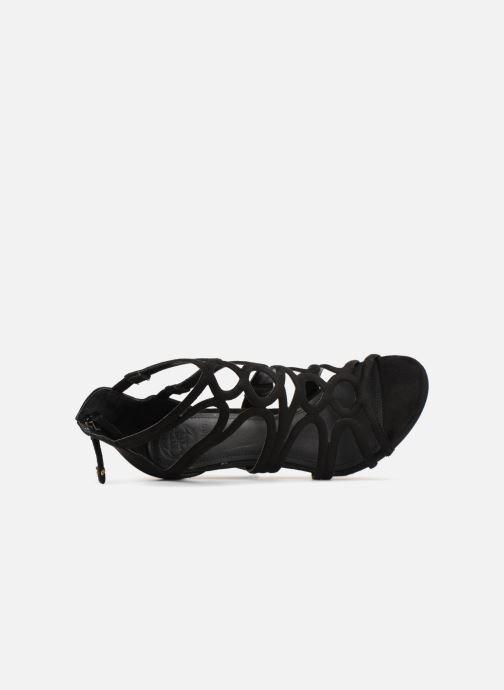 Sandales et nu-pieds Guess TEIGAN Noir vue gauche
