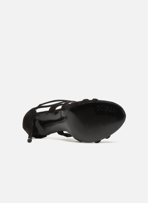 Sandales et nu-pieds Guess TEIGAN Noir vue haut