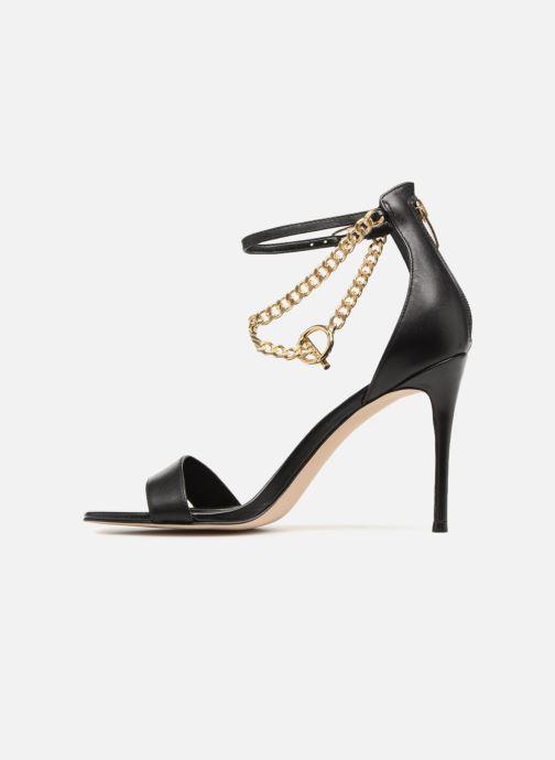 Sandales et nu-pieds Guess KONCETA Noir vue face