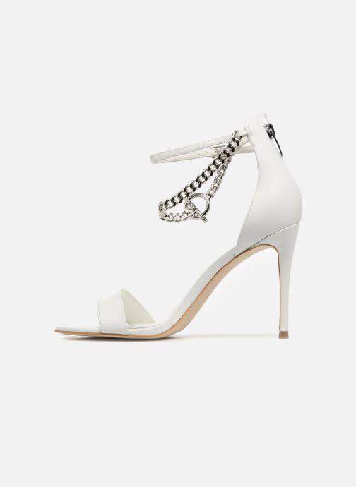 Sandales et nu-pieds Guess KONCETA Blanc vue face