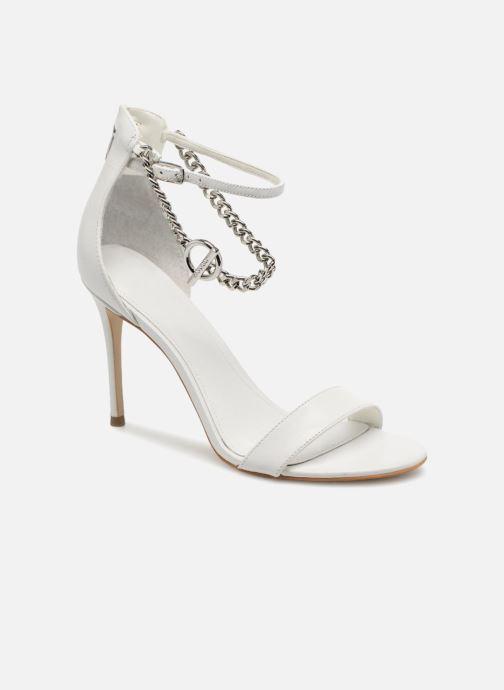 Guess KONCETA (blanc) - Sandales et nu-pieds chez