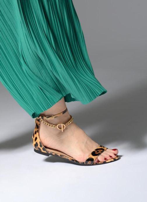 Sandales et nu-pieds Guess RONALDA3 Multicolore vue bas / vue portée sac