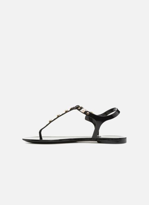 Sandales et nu-pieds Guess JANAYE Noir vue face