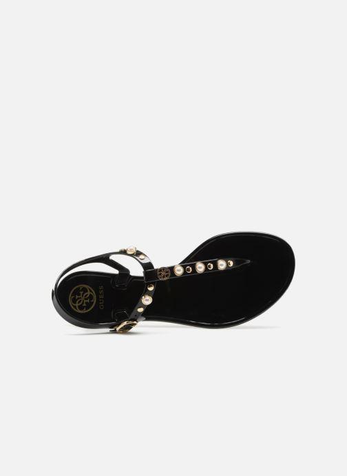 Sandales et nu-pieds Guess JANAYE Noir vue gauche